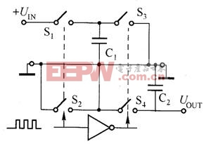 负压电荷泵的工作原理