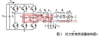 风力发电变流器的数学模型