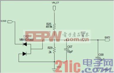 图 1:Single Frame 硬件电路