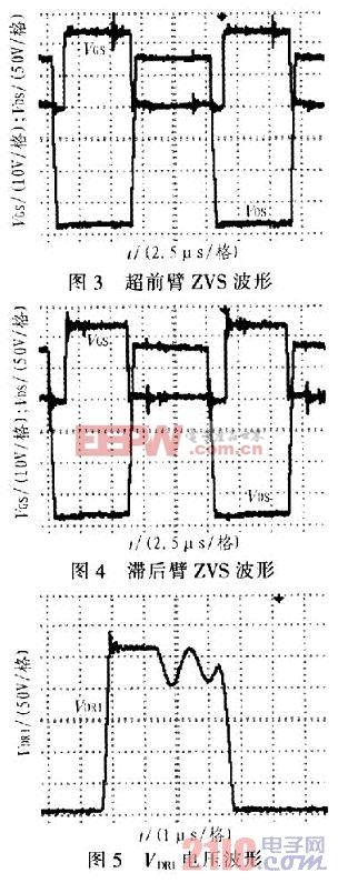 移相控制的全桥PWM变换器的电路及元件详解
