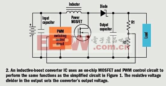 电感型升压DC/DC转换器的使用常识