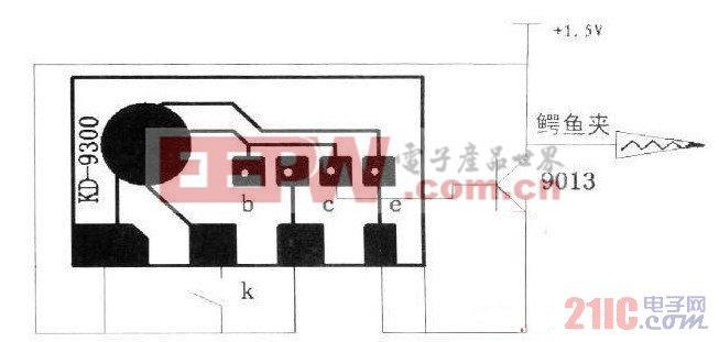利用芯片制成的音频信号发生电路