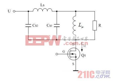 漏感与分布电容对输出波形的影响(二)