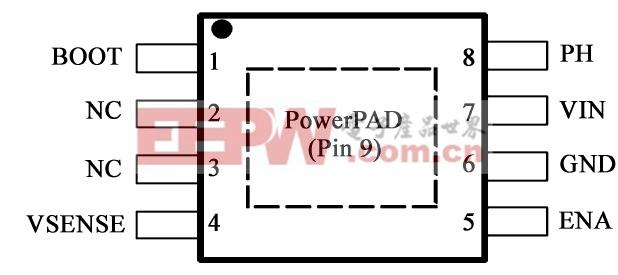 图2 TPS5430封装
