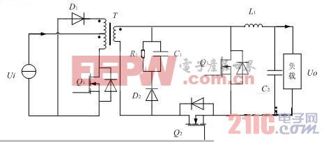 基于单端正激模型的双向DC-DC变换器研究
