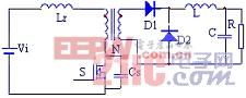 正激功率变换器磁复位技术分析研究 www.21ic.com