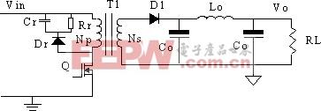 单端反激电路中高频变压器的设计  www.21ic.com
