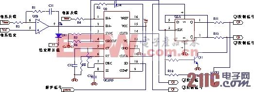在IGBT的使用过程中,驱动电路选择的合理性和设计是否正确是影响其推广使用的问题之一。IGBT的通态电压、开关时间、开关损耗、承受短路能力以及dv/dt电流等参数均与门极驱动条件密切相关。 IGBT的驱动电路原理图如图6所示。 图中Q1为由控制电路产生的驱动信号输入,fault为本驱动电路在检测到过流等故障时发出的故障检测信号。C1、G1、E1分别接IGBT的源栅漏级。驱动电路的供电,采用单电源加稳压管的方式。 对于M57962AL驱动电路,在以下两种情况容易导致驱动电路失去负偏压:一是产生负偏压的稳压二