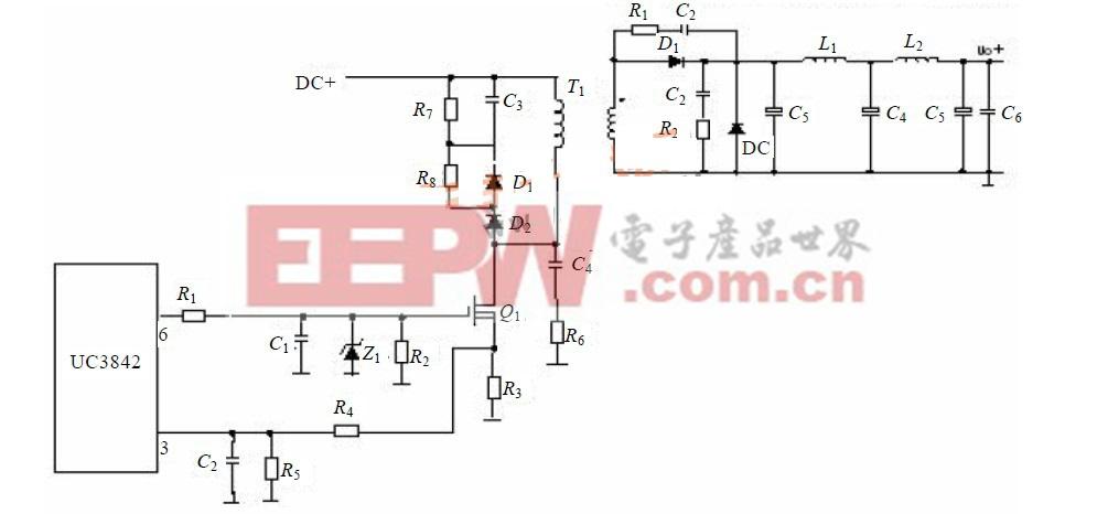 图3 恒流恒压源主回路电路图