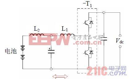 图3 双向DC-DC 变换器。