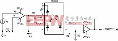 TIL300的外围配置电路
