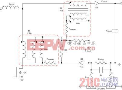平均电流模式控制的电流检测变压器电路设计