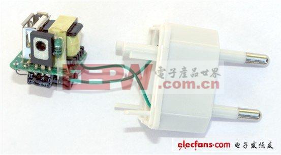 这个电源本身小于一立方英寸。以下的图片展示其主要元器件