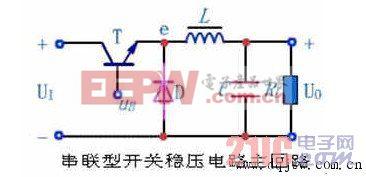 串联型开关稳压电路主回路