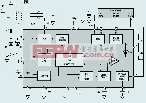 LM1893典型应用电路