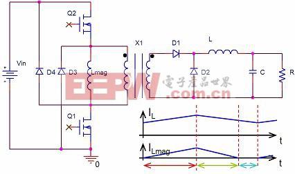 双开关正激转换器电路原理图