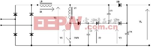 功率因数校正和新型的无源无耗缓冲电路