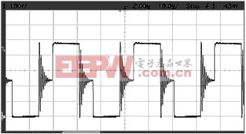 DC/DC初级电压波形