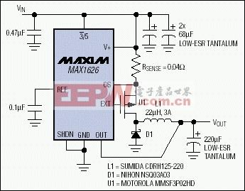 图4. 用以表达图3思想的标准DC-DC转换电路