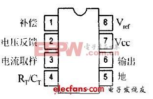UC3845芯片管脚图