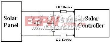 控制器输入端防雷保护