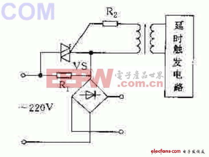 微机电源中的保护电路