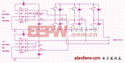 伺服驱动器中电流采样电路设计