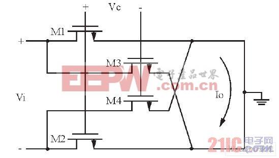差分型可变电阻原理图