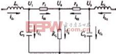 公用电压调节器输出等效电路