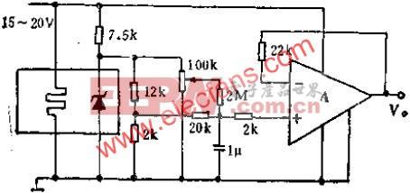 由SW399组成的标准电池替换器电路图