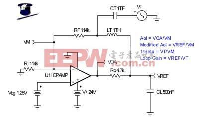 AC 稳定性检查:原始电路
