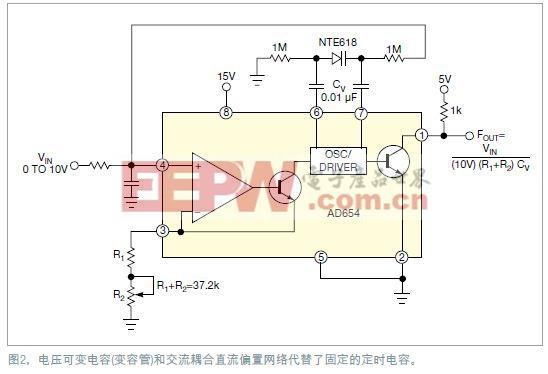 用NTE618超突变变容管替代定时电容