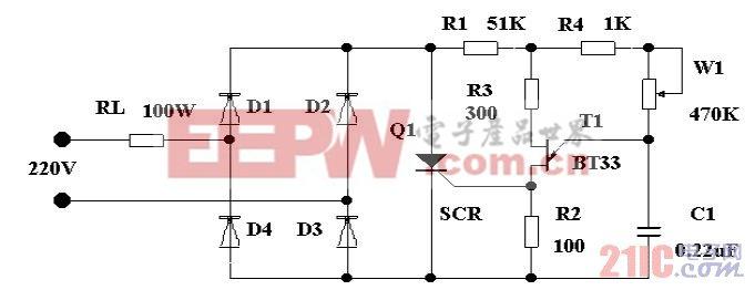 可控硅交流调压器制作
