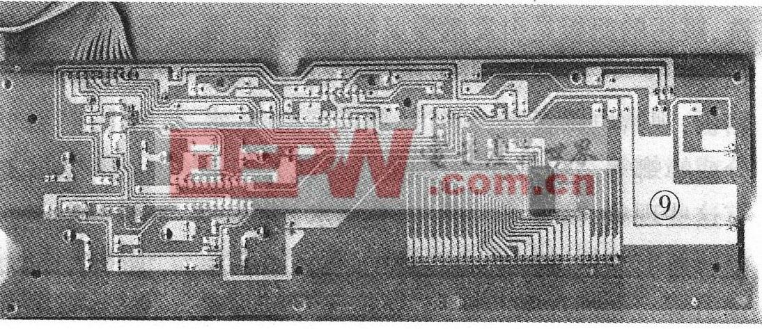 图9 该机控制板反面实物图