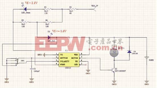 SX8121的马达驱动电路设计及其应用图片
