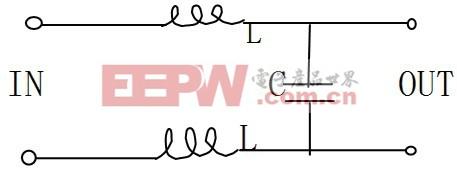 图4 旁路LC滤波器