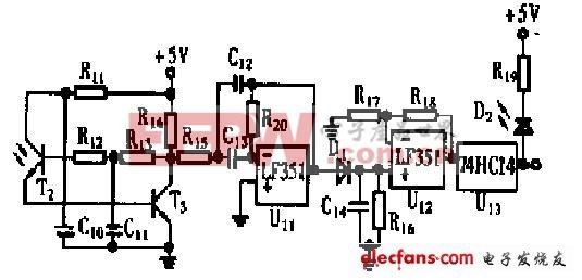 光电接收电路