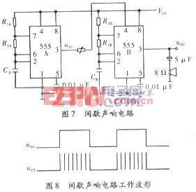 555多谐振荡器在模拟声响电路中的应用