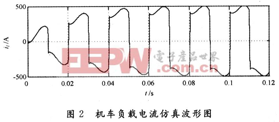 从图3可以看出,采用补偿谐波及无功电流的有源滤波器,它可以同时补偿负载中的谐波及无功电流,使得电源电流中只含有负载电流的基波有功成分。 4 结语 本文用Matlab/Simulink中的电力系统模块对电铁供电系统的有源滤波器进行了仿真研究,结果表明单相有源滤波器用于电铁供电系统具有良好的谐波及无功电流的抑制效果。
