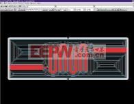 图3 LPKF的CircuitCAM程序生成的切割轨迹