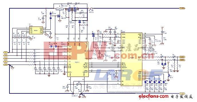 检测仪器智能电池设计方案原理图