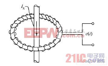 空心电流互感器结构图