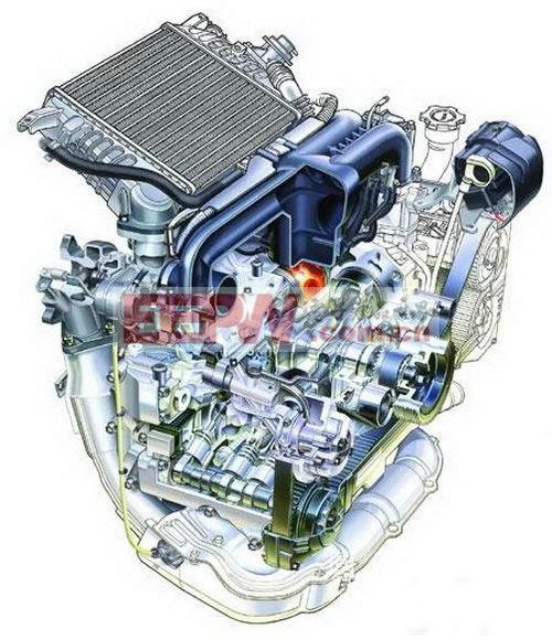 浅谈汽车发动机冷却系统工作原理高清图片
