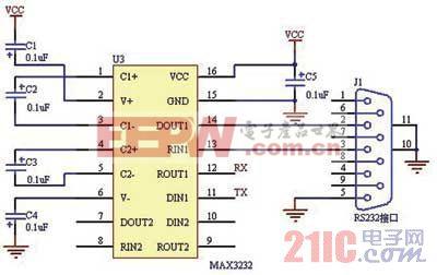 图6倒车雷达通信接口电路图高清图片