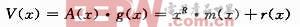 R次的多项式g(x)