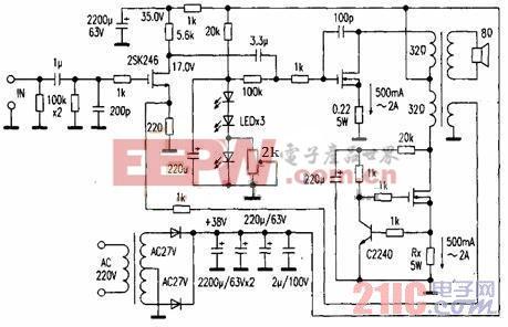 智能电网:无磁隙输出变压器的单端放大器研究