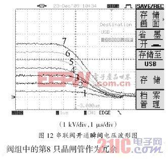 高压晶闸管串联阀触发电路的设计方案