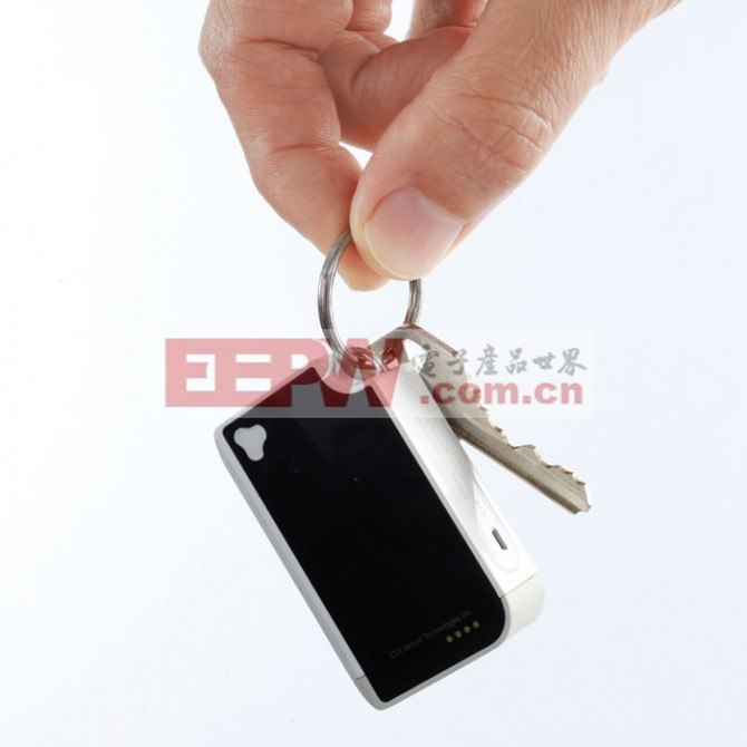 The Virtual Keyboard is about the size of a Zippo lighter and can be carried easily in you...