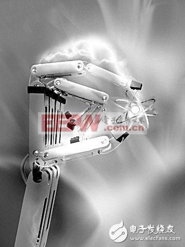 机器人取代组装线上的工人