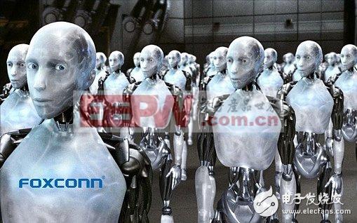 """把富士康推到了""""机器人代替人工""""大讨论的风口浪尖"""
